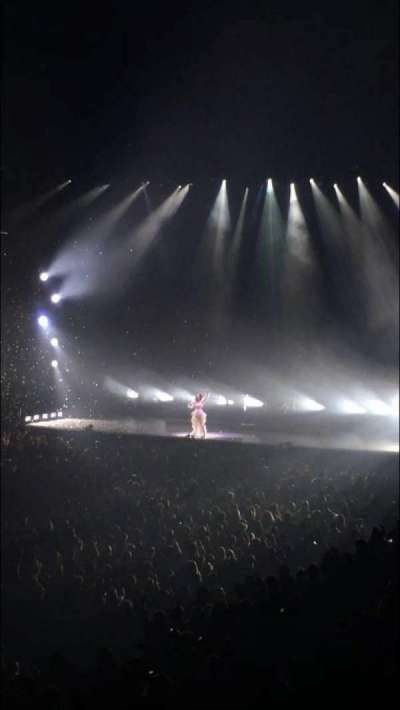 Oracle Arena, section: 105, row: 20