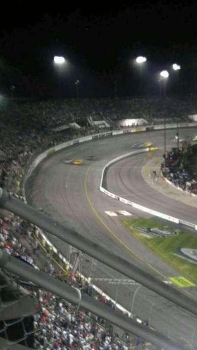 Richmond International Raceway, section: mezzanine, row: k, seat: 6