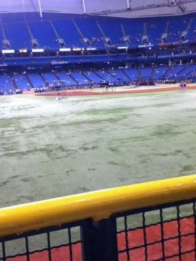 Tropicana Field, section: 147, row: T, seat: 4