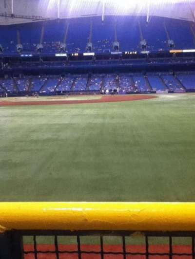 Tropicana Field section 144