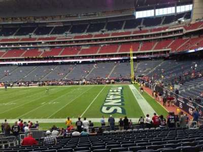 NRG Stadium section 122