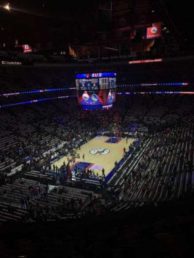 Wells Fargo Center, section: 209, row: 7, seat: 8