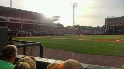 Fluor Field, section: 114, row: b, seat: 17