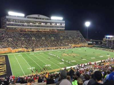 BB&T Field, section: 12, row: Bbb, seat: 7