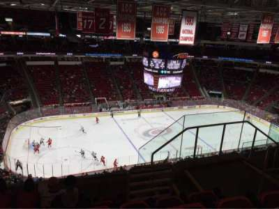 PNC Arena, section: 326, row: F, seat: 5