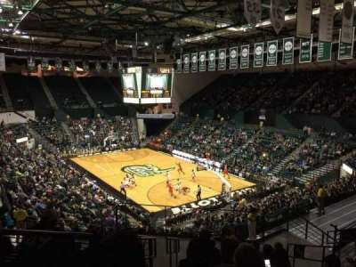 Dale F. Halton Arena, section: 215, row: L, seat: 8