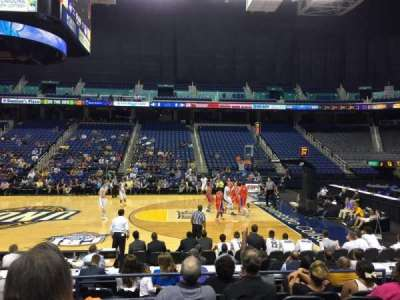 Greensboro Coliseum, section: 110, row: Ff, seat: 8