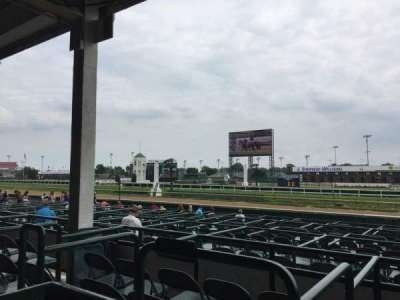 Churchill Downs, section: 115, row: H, seat: 17