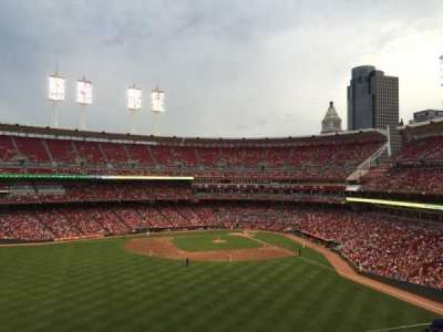 Great American Ball Park, section: 403, row: R, seat: 11