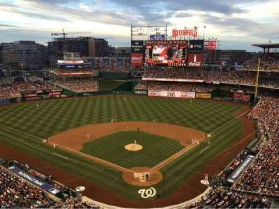 Nationals Park, section: 313, row: J, seat: 12c