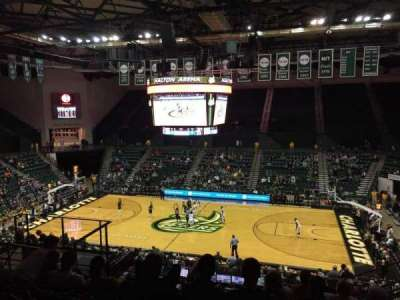 Dale F. Halton Arena, section: 220, row: K, seat: 5