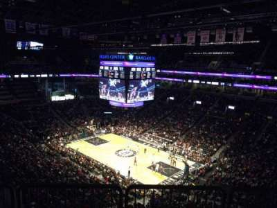 Barclays Center, section: 220, row: 10, seat: 7
