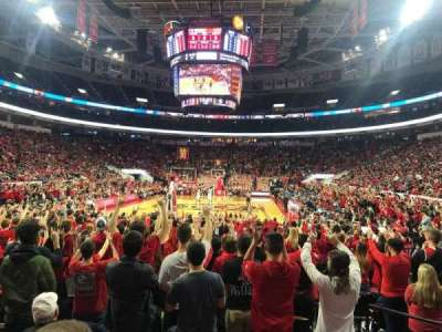 PNC Arena section 126