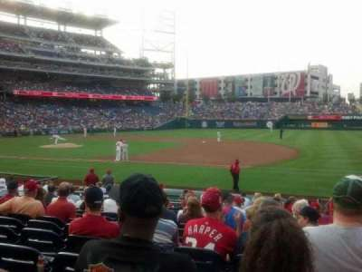 Nationals Park, section: 131, row: u, seat: 5