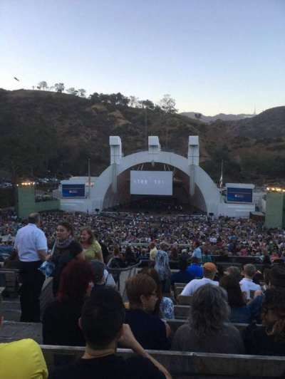Hollywood Bowl, section: M2, row: 11, seat: 119