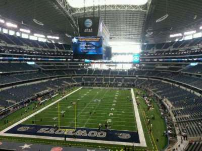 AT&T Stadium, section: 346, row: 3, seat: 17