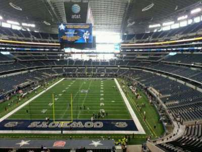 AT&T Stadium, section: 346, row: 1, seat: 20