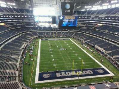 AT&T Stadium, section: 460, row: 2, seat: 2