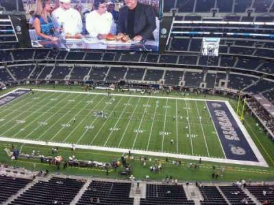 AT&T Stadium, section: 440, row: 3, seat: 9