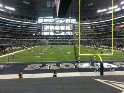 AT&T Stadium section 124