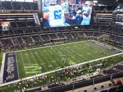AT&T Stadium, section: 416, row: 5, seat: 22
