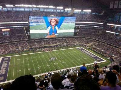 AT&T Stadium, section: 415, row: 25, seat: 7