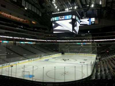 American Airlines Center section 123