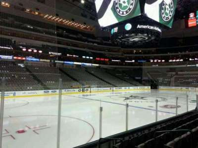 American Airlines Center section 121