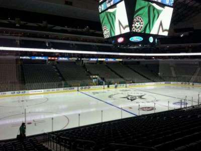 American Airlines Center, section: 109, row: T, seat: 4
