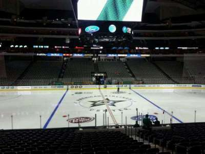 American Airlines Center section 107