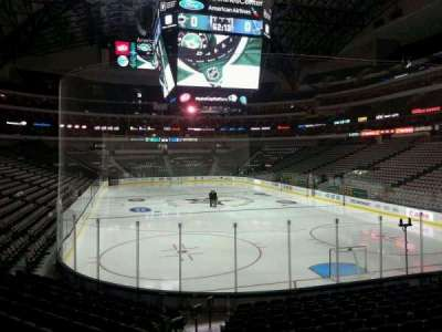 American Airlines Center section 101