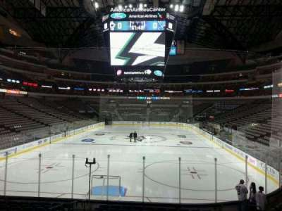 American Airlines Center section 124