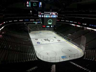 American Airlines Center section 303