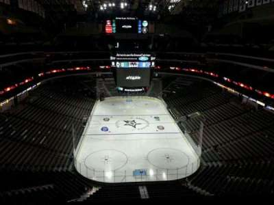 American Airlines Center, section: 301, row: H, seat: 18