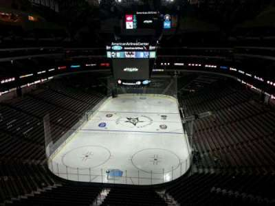 American Airlines Center, section: 334, row: B, seat: 12