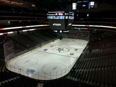 American Airlines Center, section: 332, row: AA, seat: 15