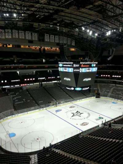 American Airlines Center, section: 330, row: B, seat: 6