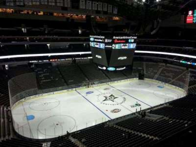 American Airlines Center section 329