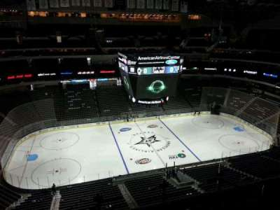 American Airlines Center, section: 328, row: J, seat: 2
