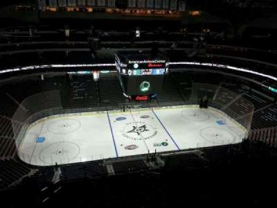American Airlines Center section 327
