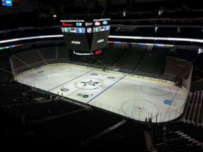 American Airlines Center, section: 323, row: D, seat: 12