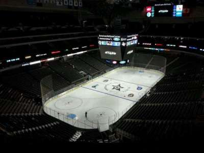 American Airlines Center, section: 315, row: L, seat: 10