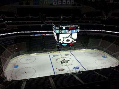 American Airlines Center, section: 311, row: K, seat: 19