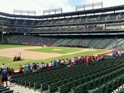 Globe Life Park in Arlington section 15