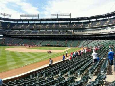 Globe Life Park in Arlington, section: 12, row: 12, seat: 12
