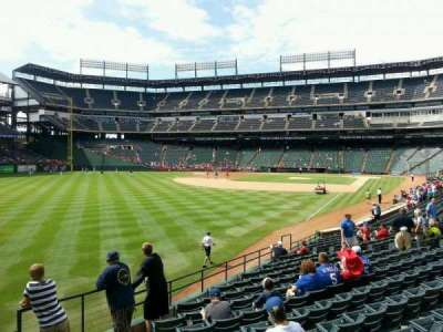 Globe Life Park in Arlington section 10