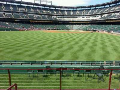 Globe Life Park in Arlington section 54