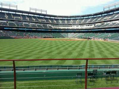 Globe Life Park in Arlington section 53