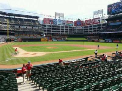 Globe Life Park in Arlington section 29