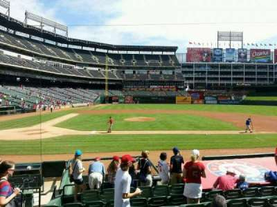 Globe Life Park in Arlington section 32